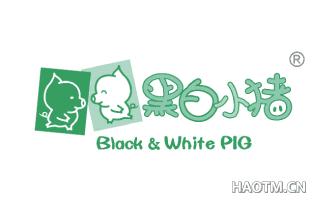 黑白小猪 BLACK & WHITE PIG