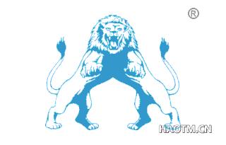 双狮子图形