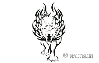 七匹狼图形