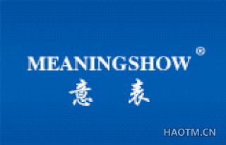 意表  MEANING SHOW
