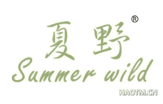 夏野 SUMMERWILD