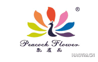 孔雀花 PEACOCKFLOWER