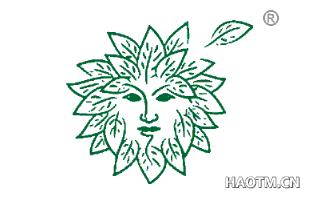 树叶人图形