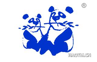 双熊猫图形