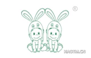 卡通小兔图形
