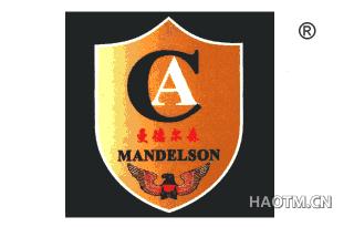 曼德尔森;MANDELSON;CA