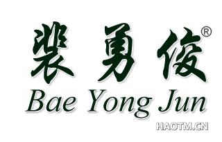 裴勇俊;BAE YONG JUN