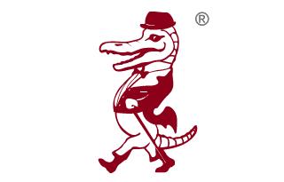 绅士鳄鱼图形