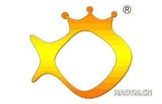 皇冠金鱼图形