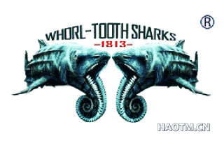 WHORL-TOOTH SHARKS 1813