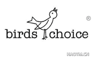 BIRDS CHOICE