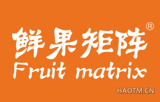 鲜果矩阵 FRUIT MATRIX
