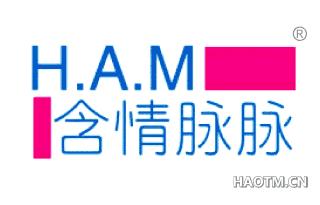 含情脉脉 H A M