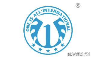 ONE IS ALLINTERNATIONAL