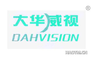 大华威视 DAHVISION
