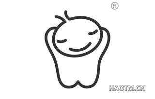 卡通牙齿图形