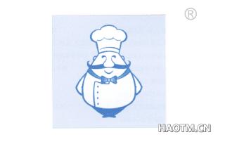 卡通厨师图形