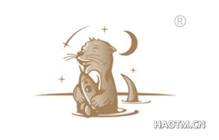 小猫吃鱼图形