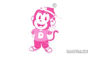 卡通猴图形