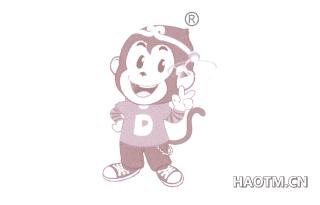 卡通猴子图形