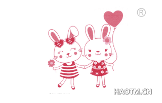 小兔子图形