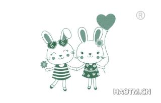 兔子卡通图形