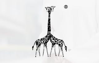 爱的长颈鹿图形