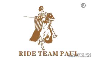 RIDE TEAM PAUL