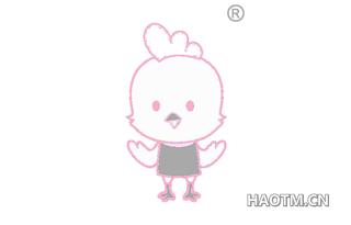 卡通小鸡图形