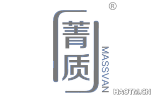 菁质 MASSVAN