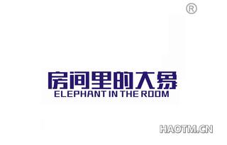 房间里的大象 ELEPHANT IN THE ROOM
