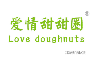 爱情甜甜圈 LOVE DOUGHNUTS