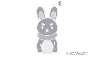 严肃兔图形