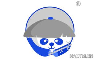 卡通熊猫图形