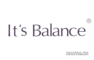 IT S BALANCE