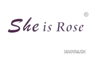 SHE IS ROSE