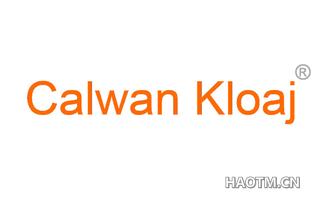 CALWAN KLOAJ