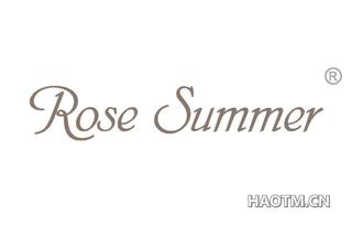 ROSE SUMMER