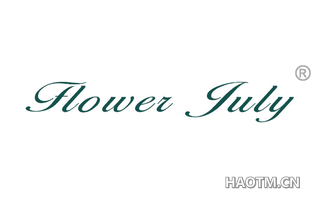 FLOWER JULY