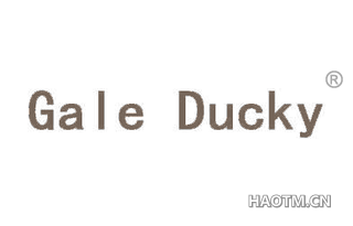 GALE DUCKY
