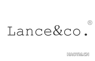 LANCE CO