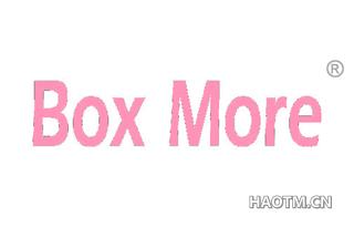 BOX MORE