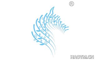 空气尾图形