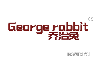 乔治兔 GEORGE RABBIT