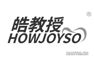 皓教授 HOWJOYSO