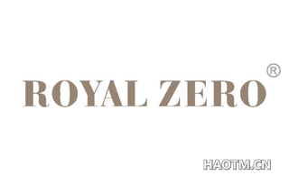 ROYAL ZERO