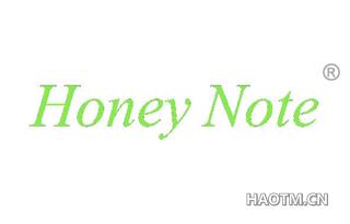 HONEY NOTE