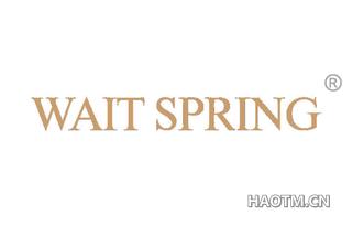 WAIT SPRING