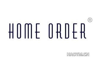 HOME ORDER