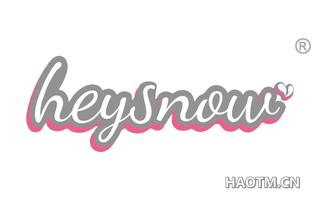 HEYSNOW